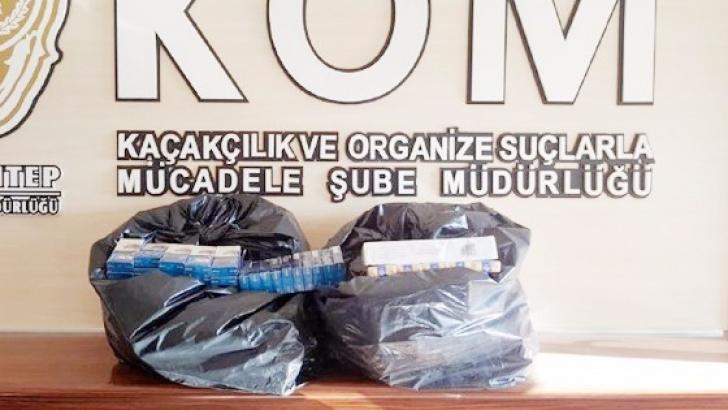 520 paket kaçak sigara ele geçirildi