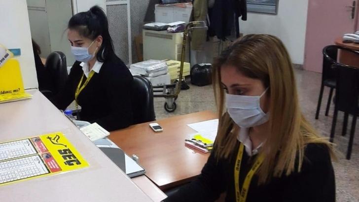GAŞTİ'de Koronavirüs için maske dağıtıldı