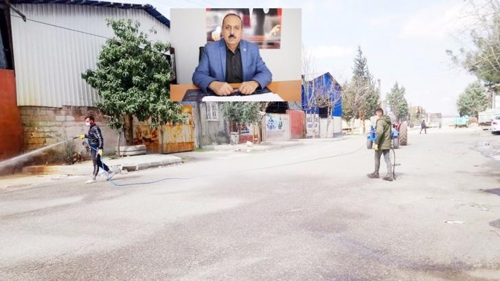 Mahrukatçılar Sitesi dezenfekte edildi
