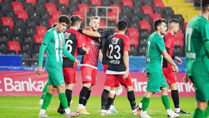 Gaziantep FK zorlanmadı