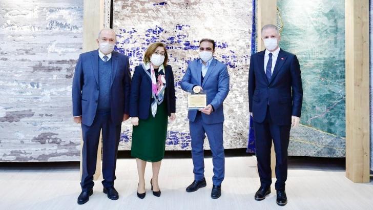 Gaziantepli halıcılar dünya halı pazarının en etkin aktörleri