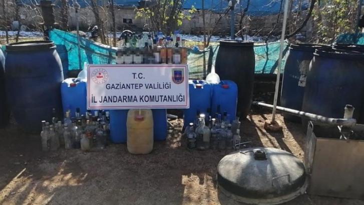 Jandarma 506 litre kaçak alkol ele geçirdi