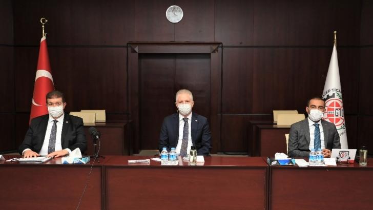Vali Gül GTO Meclisi'ne katıldı