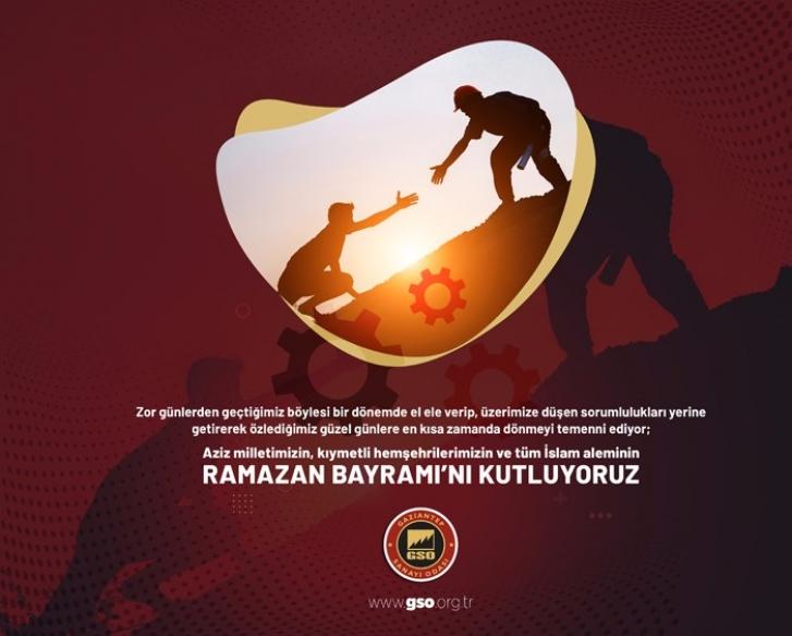 Gaziantep Sanayi Odası Ramazan Bayramı ilanı