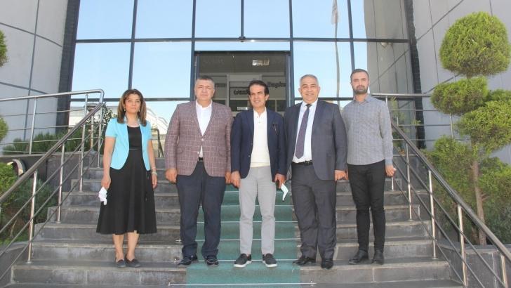 Antalya Ticaret Borsası Başkanı Çandır'dan GTB'ye ziyaret