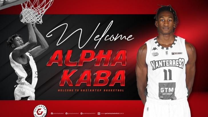 Alpha Kaba Empera Halı Gaziantep Basketbol'da